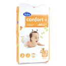 Auchan baby changes confort jumbo midi 4/9kg x60 taille 3
