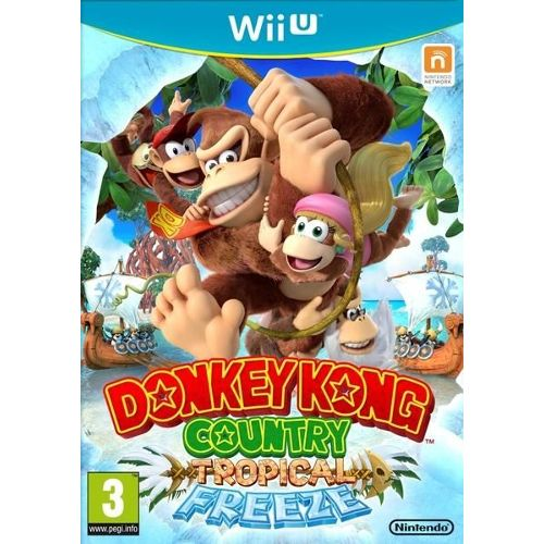 JEU NINTENDO WII U DONKEY KONG COUNTRY TROPICAL FREEZE