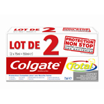 Dentifrice expert nettoyage Colgate Total