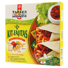 Kit preparation Tables du Monde Fajitas 505g
