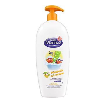 Bain douche petit manava mirabelle de lorraine 750ml tous les produits gels douche savons for Petit bain douche