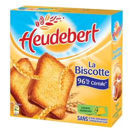 Heudebert biscotte nature x34 -300g