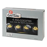 Mini cocotte Côté Table Noix de St Jacques 4 x 40g