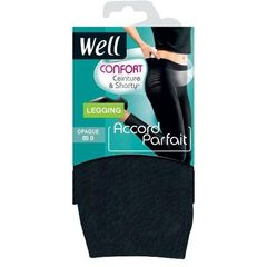 Legging T3 Accord Parfait ultra confort couleu Noir Ebene