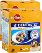 Sticks chiens Dentastix chiens minis - Pedigree