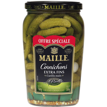MAILLE : Cornichons extra fins