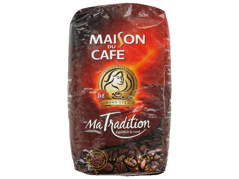 Cafe grains Maison du cafe Tradition 1kg