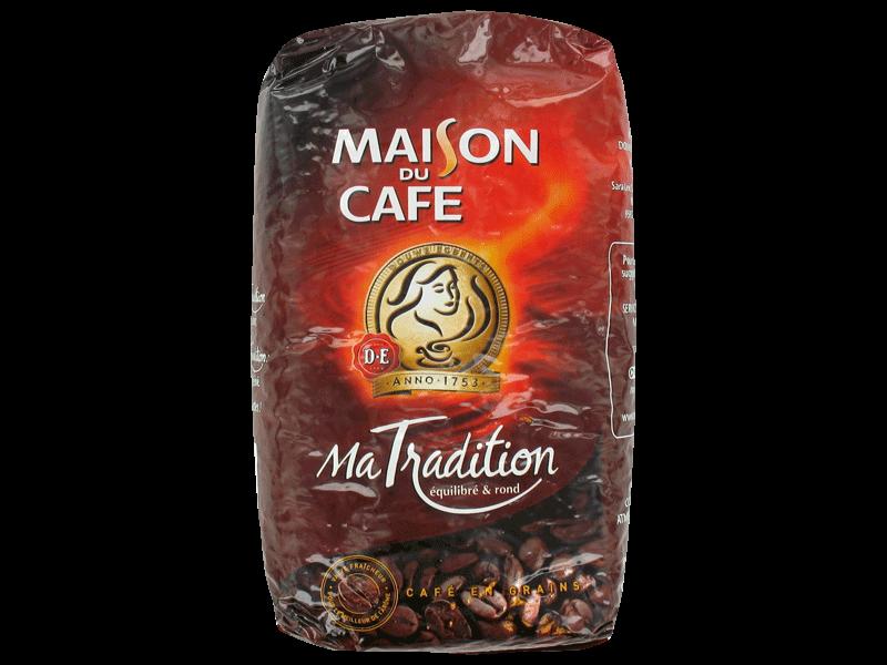 Cafe grains maison du cafe tradition 1kg tous les for Maison du cafe andrezieux