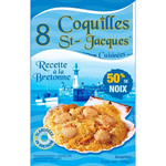 Celtigel coquille st Jacques 8x90g