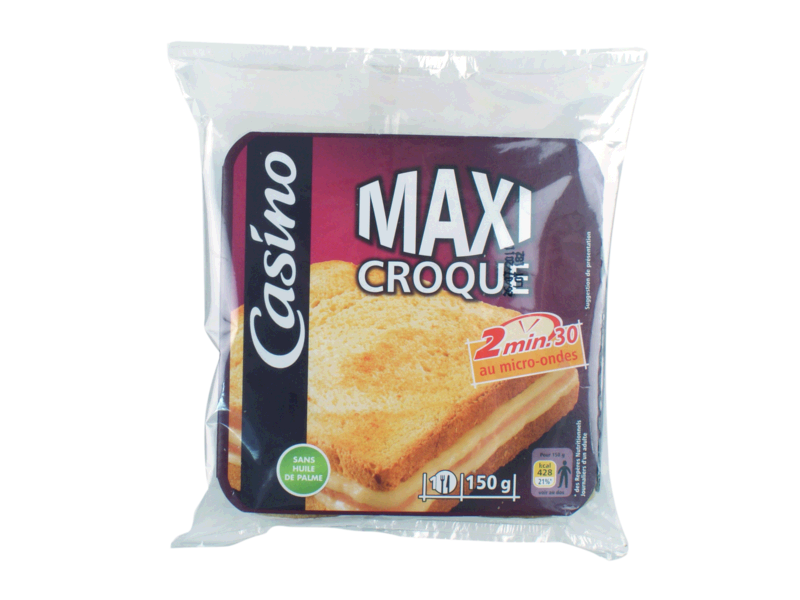 Croque monsieur maxi 150g