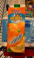Nectar d'orange ROYAL, brique de 2l