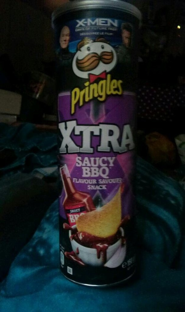 pringles xtra sauce barbecue 150g
