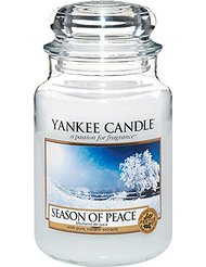 Yankee Candle (Bougie) - Season Of Peace - Grande Jarre