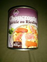 Choucroute brasserie au Riesling 800g