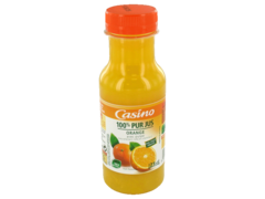 Pur jus d?orange avec pulpe