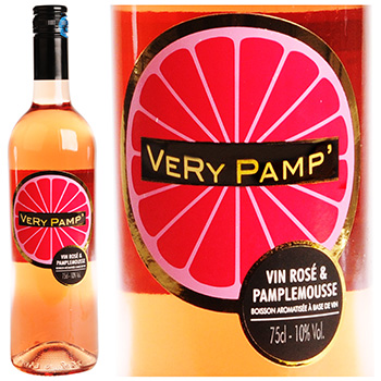 Vin de pays Very Pamp Rose pamplemousse 75cl