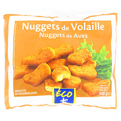 Nuggets de volaille Eco+ 500g