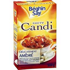 Sucre Candi delicatement ambre