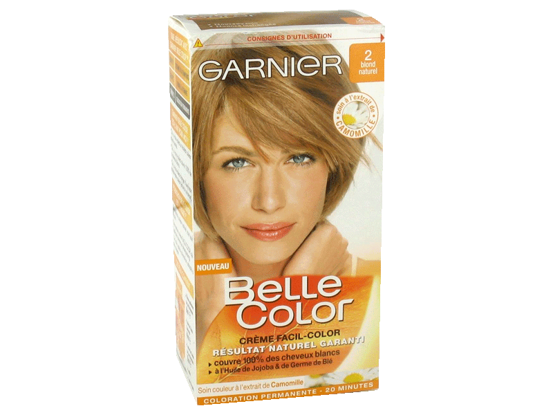 Garnier - Belle Color - Coloration permanente Blond - 02 Blond naturel