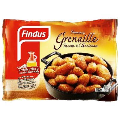 Pommes grenailles findus 450g tous les produits surgel s prixing - Comment cuisiner les pommes de terre grenaille ...