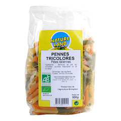 Penne tricolores NATURALINE, 500g