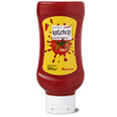 Auchan ketchup épicé flacon top down 560g