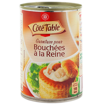 Garnit bouchee reine Cote Table 400g