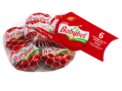 Mini BABYBEL au lait pasteurise, 24%MG, 6 portions, 132g