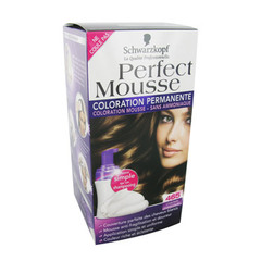 Coloration permanente Chatain Chocolat 465 - Perfect Mousse