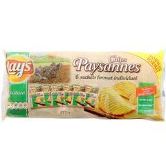 Lay's chips paysannes 6x27.5g 165g