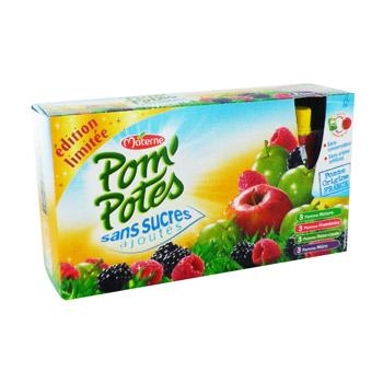 edition limitee pom potes sans sucres ajoutes multivariete tous les produits compotes prixing