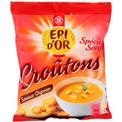 Croutons Epi d'Or oignons 90g