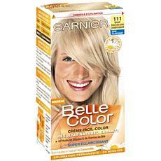 Coloration Permanente Belle Color Blond Tres Tres Clair Cendre N
