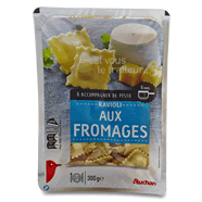 AUCHAN : Ravioli aux Fromages