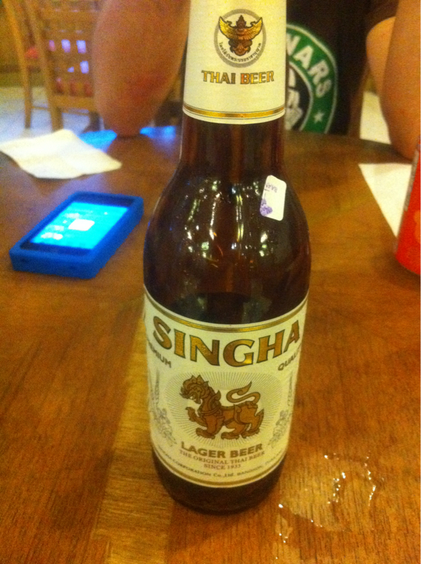 The original thaï beer 5.0% vol