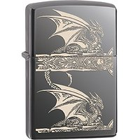Zippo briquet 60.000.602 anne stokes spring collection 2015 et chrome poli ultra brillant