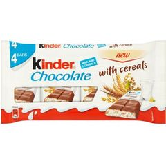 Kinder Chocolate with Cereals (4 per pack - 94g)