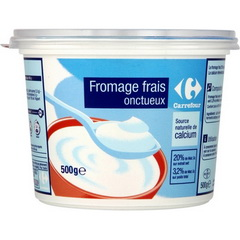 Fromage blanc nature 3,2% mg Carrefour