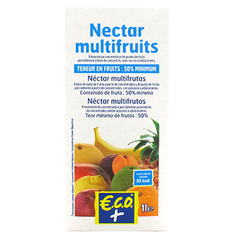 Nectar multifruits Brique 1l