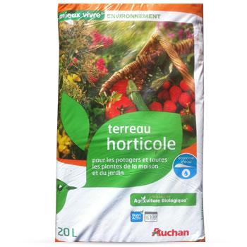 Terreau Horticole Stimule La Croissance Favorise L
