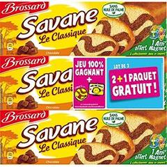 Gâteau Classic - Savane Vu au catalogue