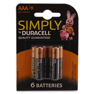 DURACELL : Simply - Piles AAA LR03