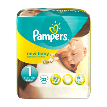 Couches pampers new baby newborn x23 tous les produits - Couche pampers pour adulte ...