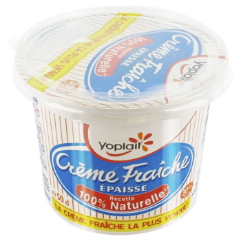 YOPLAIT CREME FRAICHE EPAISSE 30% MG 493GX1 50CL