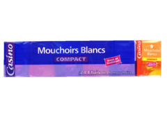 Mouchoirs Blancs compact