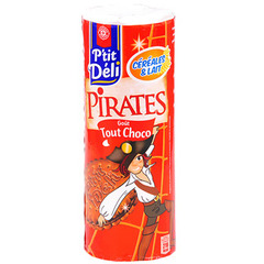 Biscuits P'tit deli Pirates Tout chocolat 330g