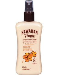 Hawaiian Tropic Spray Lotion Protectrice SPF 8 200 ml