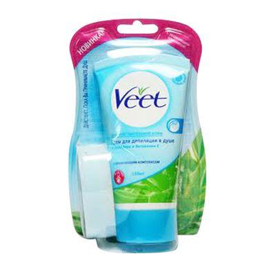 Creme depilatoire sous la douche eponge peaux sensibles - Veet creme depilatoire sous la douche ...