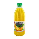 pur jus d orange pet auchan 1l