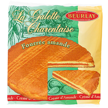 Galette Beurlay Fourree amande 300g